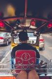Paseo de Tuk Tuk en Bangkok Imagen de archivo libre de regalías