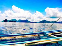 Paseo del barco Foto de archivo libre de regalías