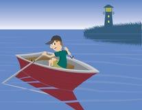 Paseo del barco libre illustration