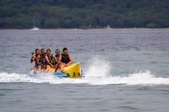 Paseo del barco de plátano Fotografía de archivo libre de regalías