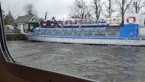 Paseo del barco del windermere del cartmel de los lagos Fotografía de archivo