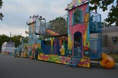 Paseo del carnaval Imágenes de archivo libres de regalías
