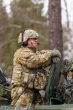 Paseo del Dragoon del ejército de los E.E.U.U. Fotos de archivo libres de regalías