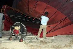 Paseo del globo del aire caliente, Cappadocia Fotos de archivo libres de regalías