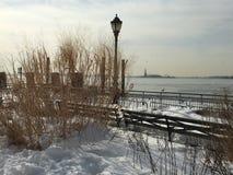 Paseo del invierno Imagen de archivo