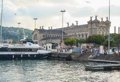 Paseo Del Mar在巴塞罗那 免版税库存照片