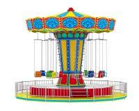 Paseo del oscilación del carnaval stock de ilustración