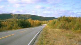 Paseo del otoño Fotografía de archivo