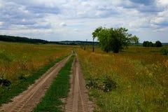 Paseo del país Imagenes de archivo