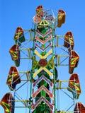 Paseo del parque de atracciones Imagen de archivo