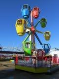Paseo del parque de atracciones Imagen de archivo libre de regalías