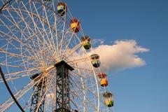 Paseo del parque de atracciones Fotografía de archivo libre de regalías