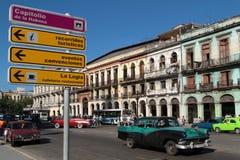 Paseo del Prado in Havana city Stock Photo