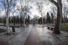 Paseo del Prado Madrid, 11 Maart, 2018 spanje Royalty-vrije Stock Fotografie