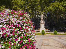 Paseo del Prado Stock Photography
