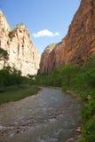 Paseo A del río Foto de archivo