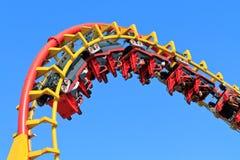 Paseo del roller coaster Fotografía de archivo