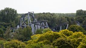 Paseo del roller coaster Fotografía de archivo libre de regalías