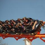 Paseo del roller coaster Imagenes de archivo