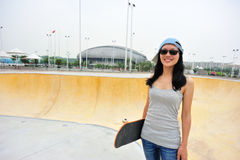 Paseo del skater Fotos de archivo