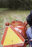 Paseo del tractor Foto de archivo libre de regalías