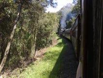 Paseo del tren del vapor Fotografía de archivo libre de regalías