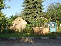 Paseo del verano al pueblo Fotos de archivo libres de regalías