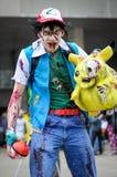 Paseo del zombi Imagen de archivo libre de regalías