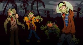 Paseo del zombi Foto de archivo libre de regalías