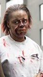 Paseo del zombi de Montreal, edición 2014 Foto de archivo