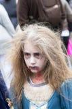 Paseo del zombi de Montreal, edición 2014 Imágenes de archivo libres de regalías