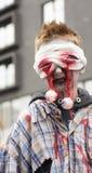 Paseo del zombi de Montreal, edición 2014 Imagenes de archivo