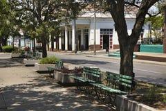Paseo el Prado street in Cienfuegos. Cuba Stock Photos