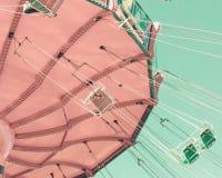 Paseo en colores pastel del oscilación del vintage fotografía de archivo libre de regalías