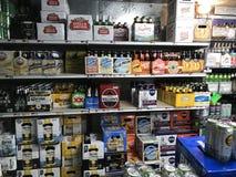 Paseo en cueva de la cerveza Fotografía de archivo