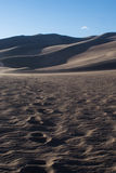 Paseo en el desierto Foto de archivo