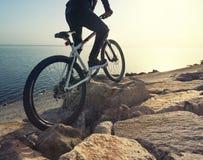 Paseo en la bici imagenes de archivo