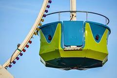 Paseo justo de la rueda de Ferris Imagen de archivo libre de regalías