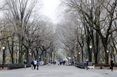 Paseo literario del Central Park imagen de archivo libre de regalías