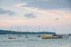 Paseo marítimo de Changi Foto de archivo libre de regalías