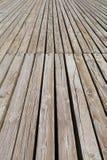 Paseo marítimo de madera imágenes de archivo libres de regalías
