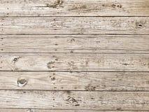 Paseo marítimo de madera del tablón Foto de archivo