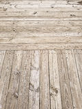 Paseo marítimo de madera del tablón Fotografía de archivo