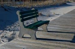 Paseo marítimo del parque de playa Foto de archivo libre de regalías