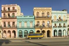 Paseo Marti em Havana Cuba imagem de stock royalty free
