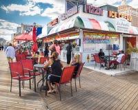 Paseo marítimo de Atlantic City Foto de archivo