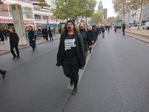 Paseo para la libertad 2018 en Berlín imagen de archivo