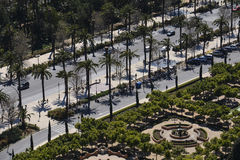 Paseo Parque Royalty Free Stock Images