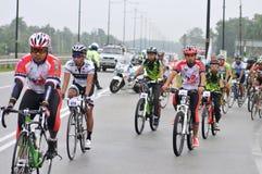 Paseo real 2011 de la ciudad de Pekan Fotos de archivo libres de regalías