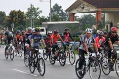 Paseo real 2011 de la ciudad de Pekan Imagen de archivo libre de regalías